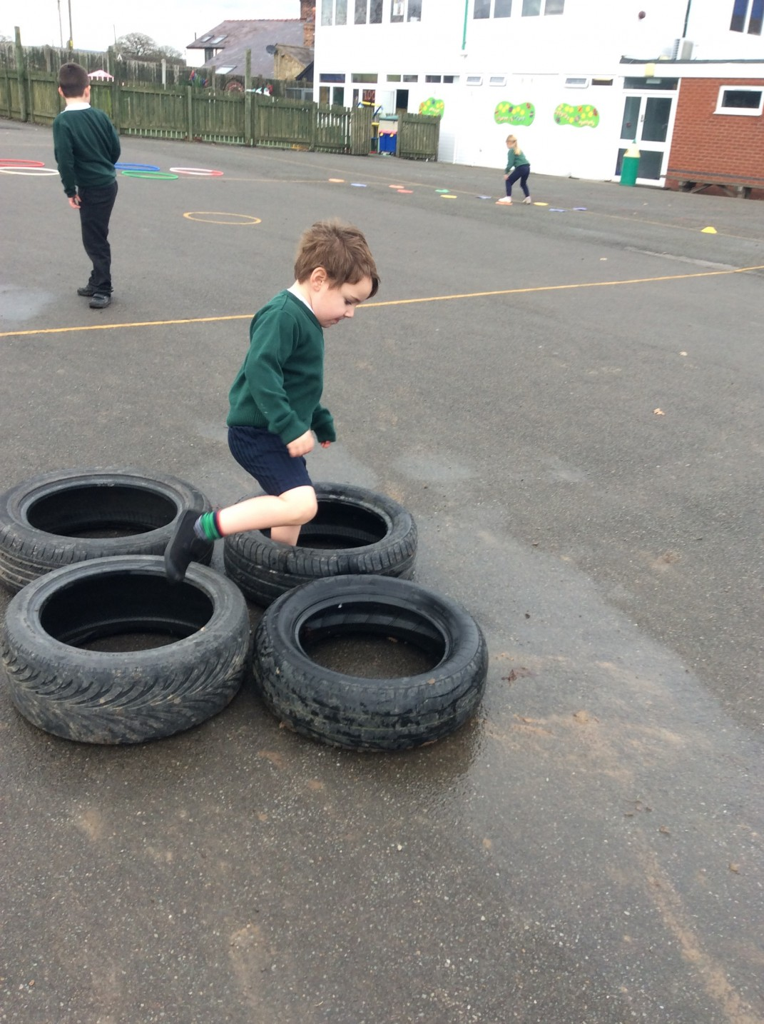 foundation phase  pe obstacle course