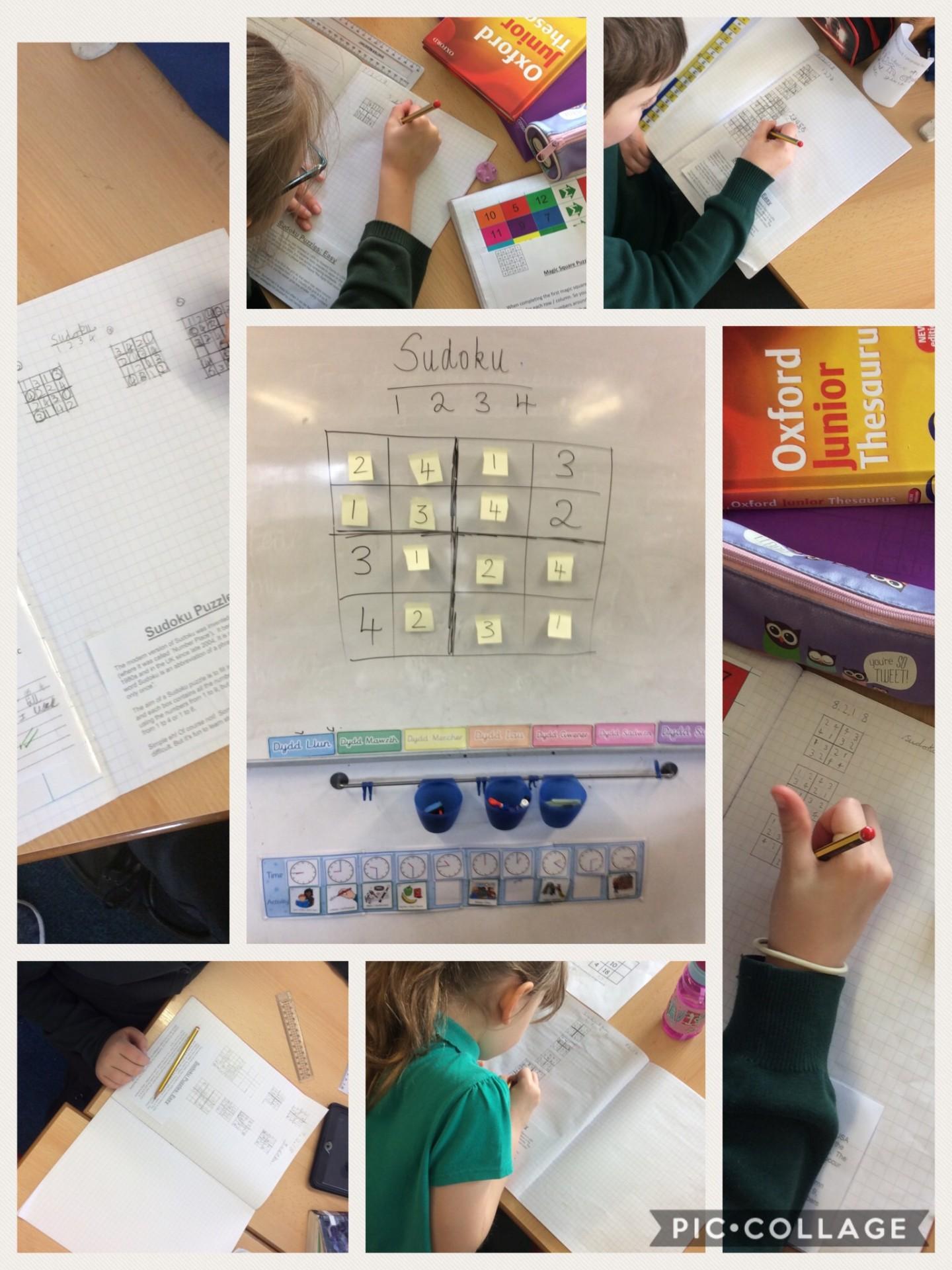 Year 3/4: Maths Suduko
